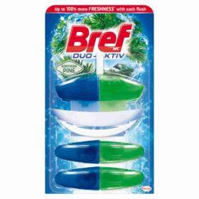Bref Duo-Aktiv Pine WC blok 3x 50ml
