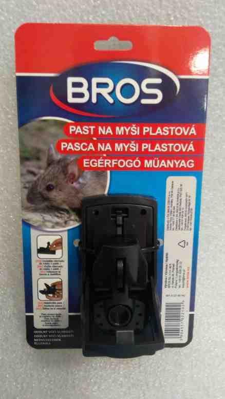 Bros plastová past na myši