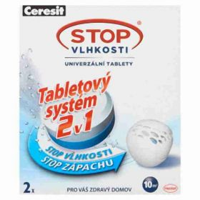 Ceresit stop vlhkosti 2x 300g (náhradní tablety)