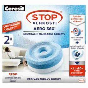 Ceresit stop vlhkosti AERO 360 (náhradní náplň 2x 450g)