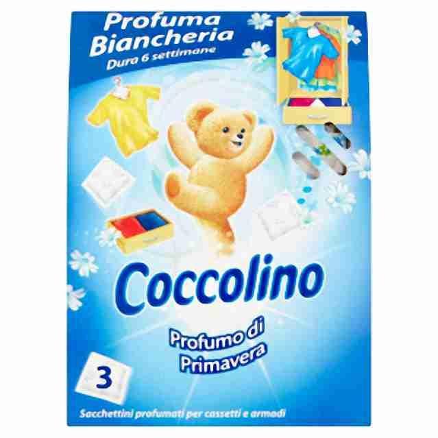 Coccolino vonné sáčky Spring 3ks