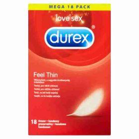Durex Feel thin kondomy 18ks