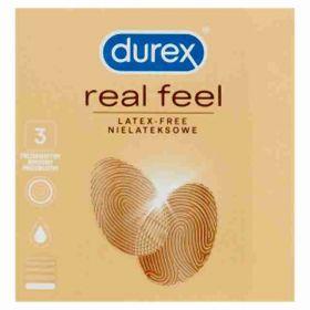 Durex Real feel kondomy 3ks