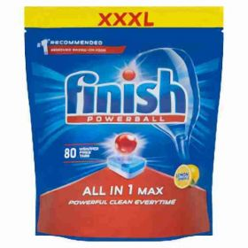 Finish tablety do myčky XXL All in One Max Lemon 80ks