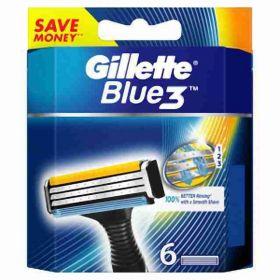 Gillette Blue 3 náhradní hlavice 3břity  6ks