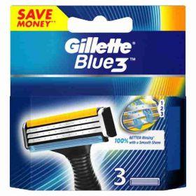 Gillette Blue3 náhradní 3břity hlavice 3ks