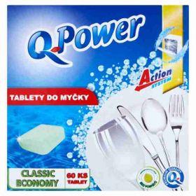 Q power tablety do myčky Economy 60ks