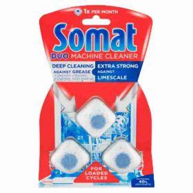 Somat čistič myčky tablety s mytím 3ks