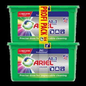 Ariel kapsle na praní Color84ks (2x 42ks)