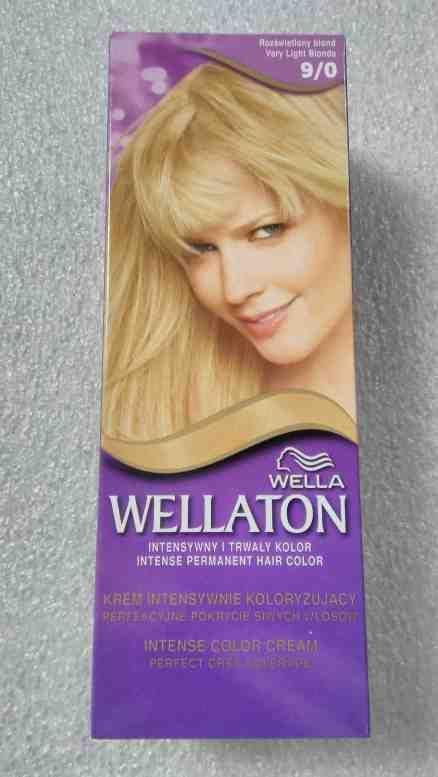 Wellaton barva na vlasy 9/0 plavá blond sérum