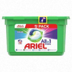 Ariel kapsle na praní All-In-1 PODs Colour 10ks