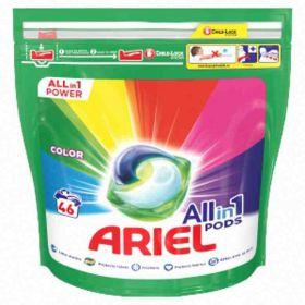 Ariel kapsle na praní color 46ks