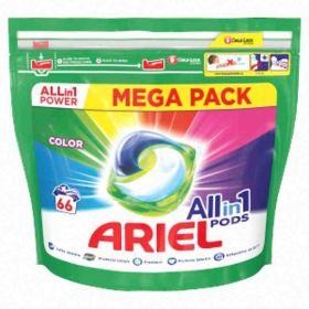 Ariel kapsle na praní Color66ks