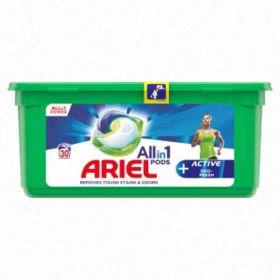 Ariel kapsle na praní Deo Fresh bílé30ks