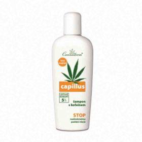 Cannaderm Capillus šampon na vlasy stimulační s kofeinem 150ml