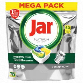 Jar kapsle do myčky Platinum All In One Lemon60ks