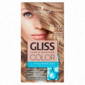 Schwarzkopf Gliss Color barva na vlasy přirozená popelavě plavá 8-16
