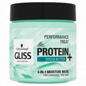Schwarzkopf Gliss Performance Treat hydratační maska 4v1 Cocoa butter400ml