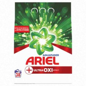 Ariel prášek na praní Aquapuder Ultra Oxi Effect 38PD