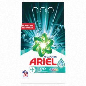 Ariel prášek na praní Color Touch of Lenor Unstoppables 30PD