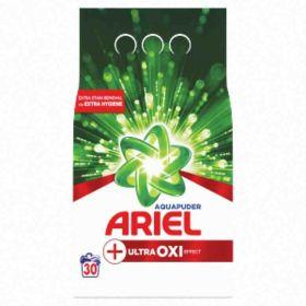 Ariel prášek na praní OXI Extra Hygiene bílé prádlo 30PD