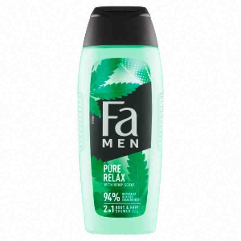 Fa sprchový gel MEN Pure Hemp 400ml