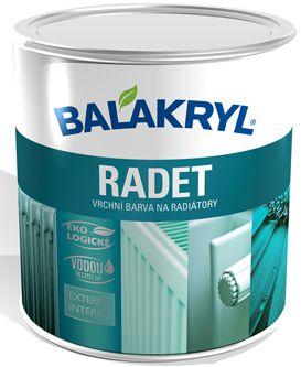 Balakryl Radet barva na radiátory v 2029 / 1000 bílá 0,7kg
