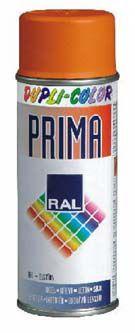 PRIMA sprej RAL 3000 ohnivě červená 400ml