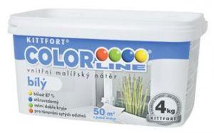 Colorline bílý malířský nátěr 4kg