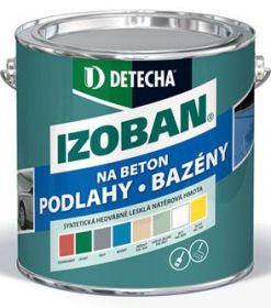 Detecha Isoban syntetický nátěr na beton šedý 2kg