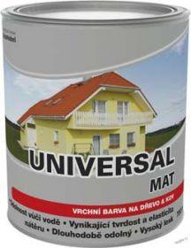Dulux universal matný SU2013/100M bílý 0,75l