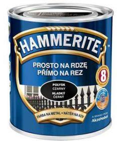 Hammerite hladká černá 0,7L