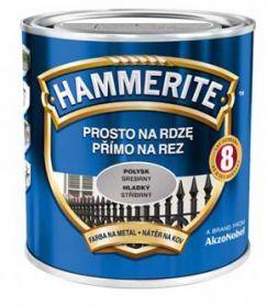 Hammerite hladká stříbrná 0,7L