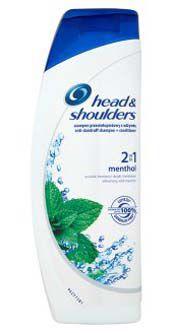 Head & Shoulders šampon 2v1 Mentol 360ml