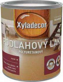 Xyladecor podlahový lak polomat polyuretanový 0,75l
