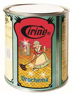 Cirine Druchema vosková pasta na parkety bílá 550g