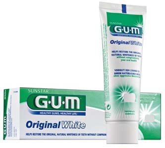 G.U.M zubní bělící pasta Original white 75ml