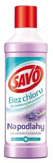 Savo bez chloru na podlahy Levandule 1L
