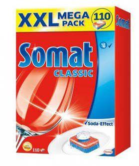 Somat tablety do myčky MegaPack Classic 100ks