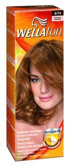 Wellaton barva na vlasy č.8/74 karamel čoko sérum