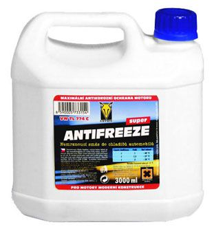 COYOTE Antifreeze SUPER - nemrznoucí směs do chladičů 3l