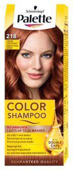 Schwarzkopf Palette color shampoo 218 Zářivě jantarový