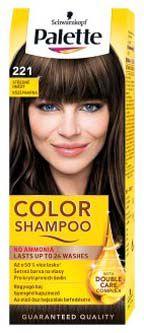 Schwarzkopf Palette color shampoo 221 středně hnědý