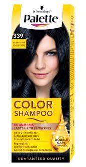 Schwarzkopf Palette color shampoo 339 modročerný