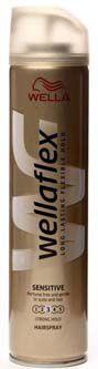 Wellaflex lak na vlasy č.3 Sensitive 250ml