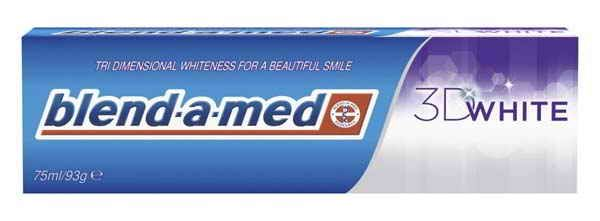Blend-a-med zubní pasta 3D White 75ml