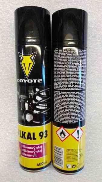 COYOTE Silkal 93 silikonový olej 400ml