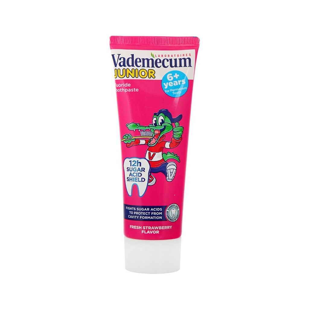 Vademecum zubní pasta Junior Strawberry 6+ 75ml
