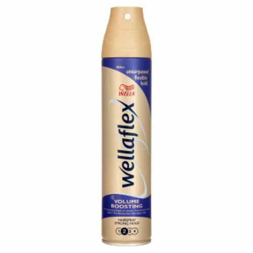 Wellaflex lak na vlasy objem boost silně tužící 250ml